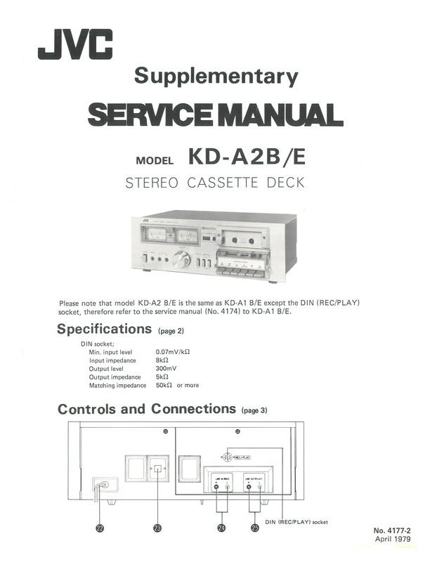 Kda2 Be Jvc Service Manual Highqualitymanuals. Kda2 Be. Wiring. Jvc Kw 500 Wiring Schematic At Eloancard.info