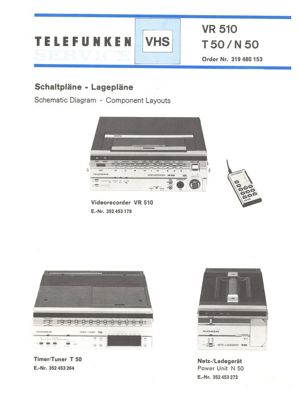 T 50 Telefunken Service Manual HighQualityManuals com