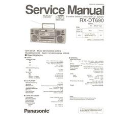 visonik wiring diagram rx-dt690 panasonic service manual highqualitymanuals.com 2005 chevy 2500 roof light wiring diagram