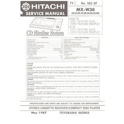 MX W30 Service Manual P 2535