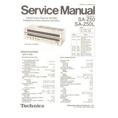 SA Z50 Service Manual P 132