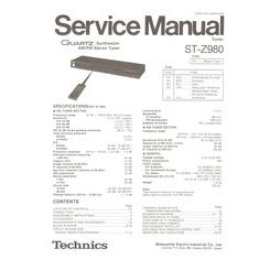 pioneer sx 980 service manual
